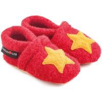 Schuhe Kinder Babyschuhe Haflinger 65306311 Rosso