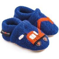 Schuhe Kinder Hausschuhe Haflinger 65306575 Blu