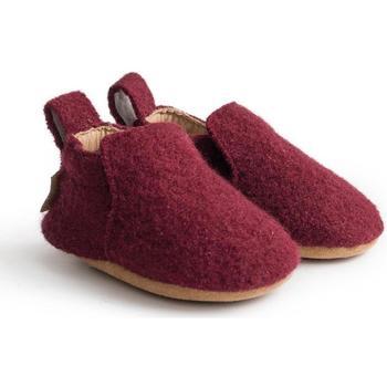 Schuhe Kinder Babyschuhe Haflinger 65100633 Rosso