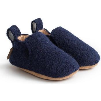 Schuhe Kinder Babyschuhe Haflinger 65100670 Blu