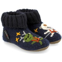 Schuhe Kinder Hausschuhe Haflinger 48313776 Blu