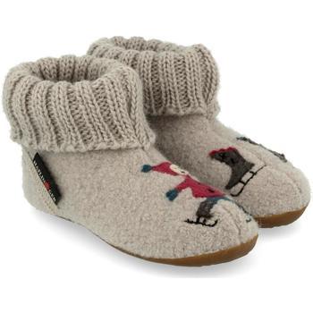 Schuhe Kinder Hausschuhe Haflinger 48313802 Grigio