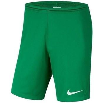 Kleidung Jungen Shorts / Bermudas Nike JR Park Iii Knit Grün