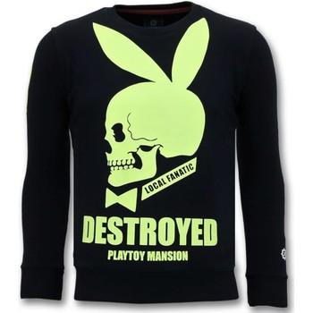 Kleidung Herren Sweatshirts Local Fanatic Destroyed Playtoy Schwarz