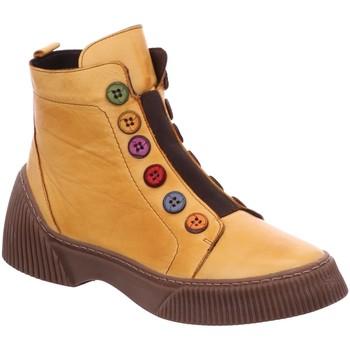 Schuhe Damen Low Boots Gemini Stiefeletten ANILINA STIEFEL OCKER 033100-02-320 gelb