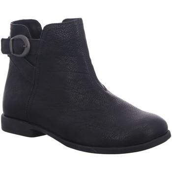 Schuhe Damen Low Boots Think Stiefeletten AGRAT 3-000110-0000 schwarz