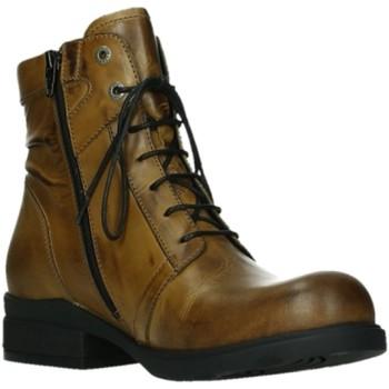 Schuhe Damen Boots Wolky Stiefeletten Center XW SOFTY WAX 0262930-925-Center braun
