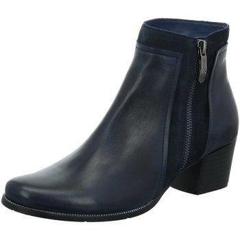 Schuhe Damen Boots Regarde Le Ciel Stiefeletten C1+C2 Isabel-28-5282 blau
