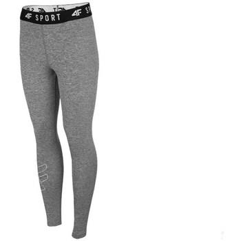 Kleidung Damen Hosen 4F SPDF001 Grau