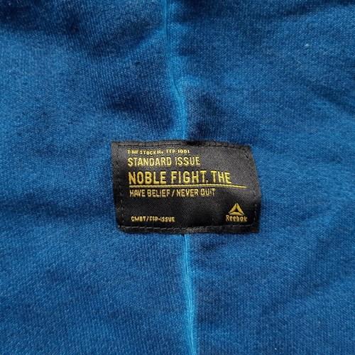 Reebok Sport Combat Noble Fight Washed Blau - Kleidung 3/4 Hosen & 7/8 Hosen Herren 6205 PJcqe