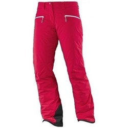 Kleidung Damen Hosen Salomon Whitecliff Gtx W Rot
