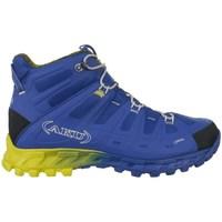 Schuhe Herren Wanderschuhe Aku Selvatica Mid Gtx Goretex Blau, Gelb