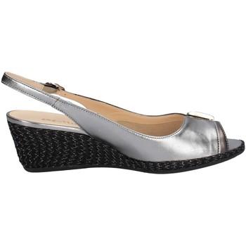 Melluso HO4357 ANTHRAZIT - Schuhe Sandalen / Sandaletten Damen 7740