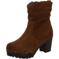 Schuhe Damen Stiefel Softclox Stiefeletten S3238 O Bootie braun