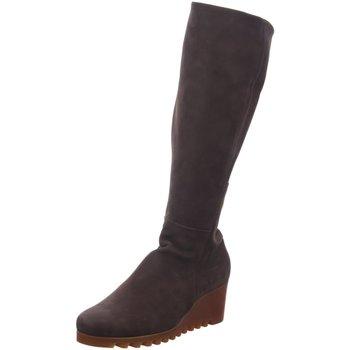 Schuhe Damen Stiefel Arche Stiefel Larata Larata Woody braun