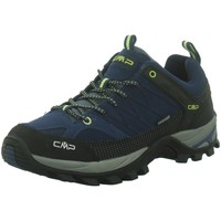 Schuhe Herren Fitness / Training Cmp Sportschuhe RIGEL LOW TREKKING SHOES WP,BL 3Q13247 blau