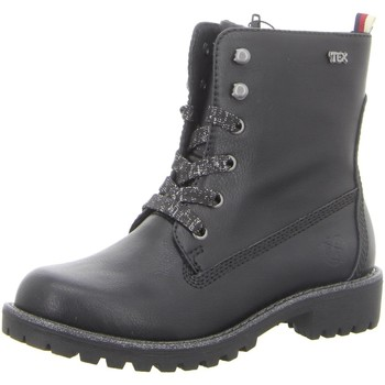 Schuhe Mädchen Stiefel Pep Step Schnuerstiefel Stiefel mit Warmfutter,BLACK 461077073 schwarz
