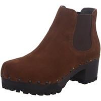 Schuhe Damen Stiefel Softclox Stiefeletten ISABELLE 3358 BRANDY braun