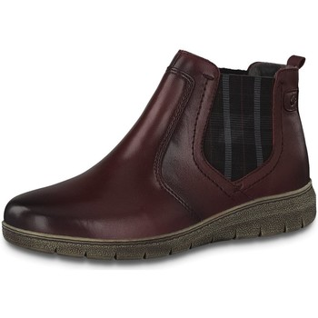 Schuhe Damen Stiefel Jana Stiefeletten Woms Boots 8-8-25401-25/549 rot