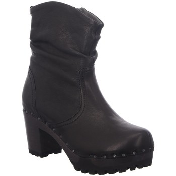 Schuhe Damen Low Boots Softclox Stiefeletten O-Bootie S323823 schwarz