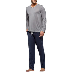 Kleidung Herren Pyjamas/ Nachthemden Impetus Travel 4593F84 G20 Grau