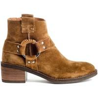 Schuhe Damen Low Boots Alpe 4444 Braun