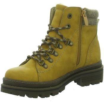 Schuhe Damen Stiefel Supremo Stiefeletten 9022703 CURRY gelb