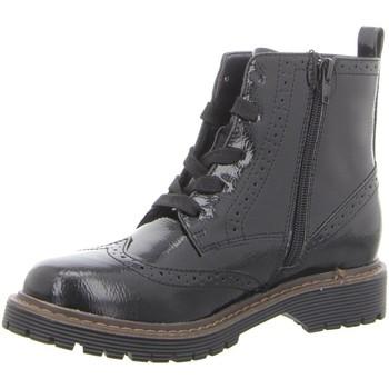Schuhe Damen Stiefel Pep Step Stiefeletten Stiefel mit Kaltfutter,BLACK 252364073 schwarz