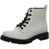 Schuhe Damen Stiefel Pep Step Stiefeletten Stiefel mit Kaltfutter,PEARL 252366073 weiß