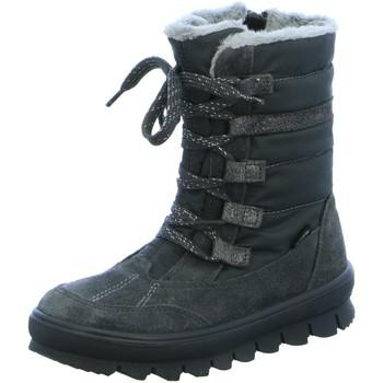 Schuhe Mädchen Stiefel Superfit Schnuerstiefel 1-009217-2000 grau