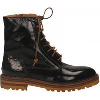 Schuhe Damen Low Boots Mat:20 NAPLAK nero