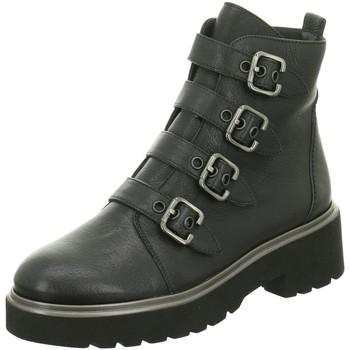 Schuhe Damen Low Boots Paul Green Stiefeletten 9395 9395-005 schwarz