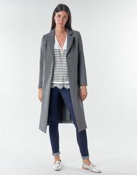 Kleidung Damen Mäntel Benetton  Grau