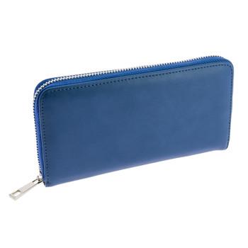 Taschen Damen Portemonnaie André COMPAGNON Blau