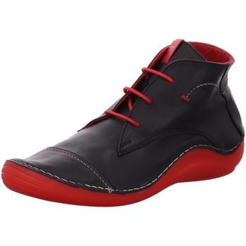 Schuhe Damen Sneaker High Cosmos Comfort Schnuerschuhe 6144502-9 schwarz