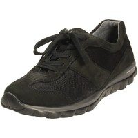 Schuhe Damen Sneaker Low Rollingsoft By Gabor Schnuerschuhe 56.960.47 schwarz