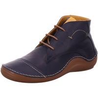 Schuhe Damen Boots Cosmos Comfort Schnuerschuhe 6144502-820 blau