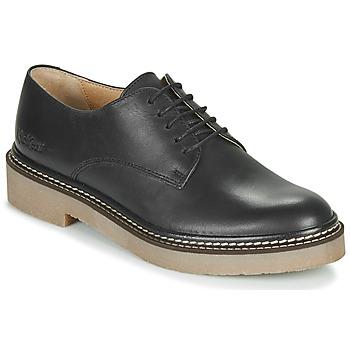 Schuhe Damen Derby-Schuhe Kickers OXFORK Schwarz