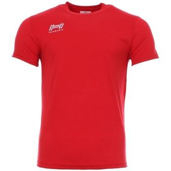Kleidung Herren T-Shirts Hungaria H-15TOUYB000 Rot