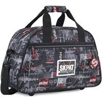 Taschen Jungen Handtasche Skpat URBAN Kinder-Fitness-Tasche Schwarz