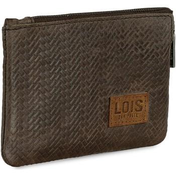 Taschen Herren Geldbeutel Lois DAVIDSON Herren Leder Brieftasche Braun