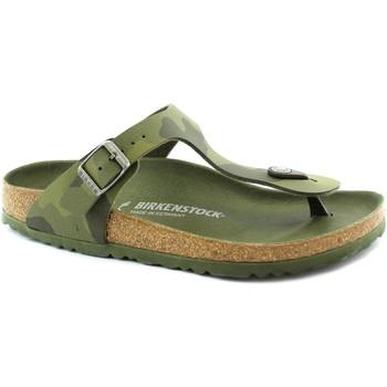 Schuhe Mädchen Zehensandalen Birkenstock BIR-RRR-1015597-GR Verde