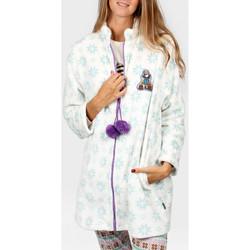Kleidung Damen Pyjamas/ Nachthemden Admas Innenjacke Die Füchse Santoro Blau Ciel