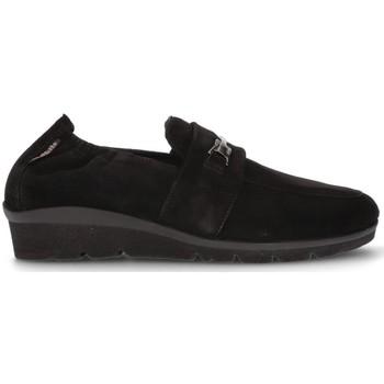 Schuhe Damen Slipper Mephisto MOBILS NADIRA MOCCASINS SCHWARZ