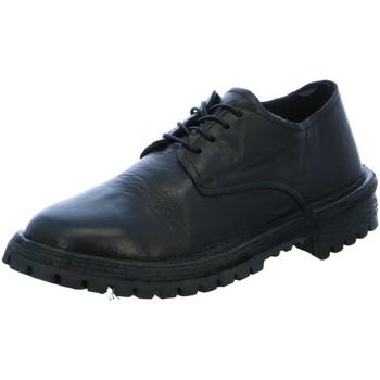 Schuhe Herren Derby-Schuhe Moma Schnuerschuhe 2AW106-BT schwarz