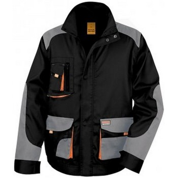 Kleidung Herren Jacken Result RS316 Schwarz/Grau
