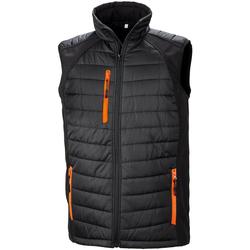 Kleidung Herren Daunenjacken Result R238X Schwarz/Orange