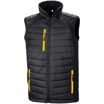 Kleidung Herren Jacken Result R238X Schwarz/Gelb