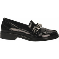 Schuhe Damen Slipper What For FRAN LOAFER black