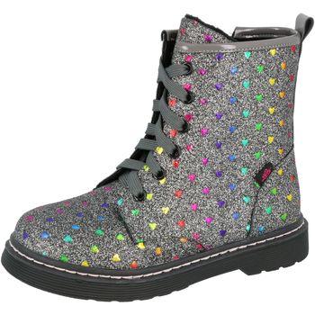 Schuhe Mädchen Boots Lico Sarina silberfarben